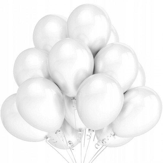 Облако Белых воздушных шаров Пастель