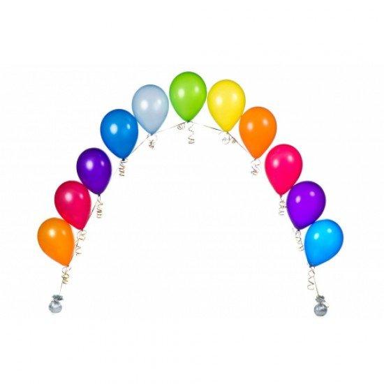 Гирлянда из гелиевых воздушных шаров ассорти