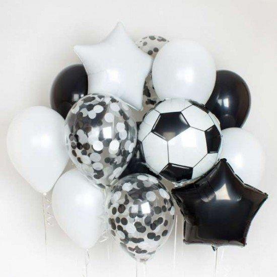 Композиция из воздушных шаров Футбол