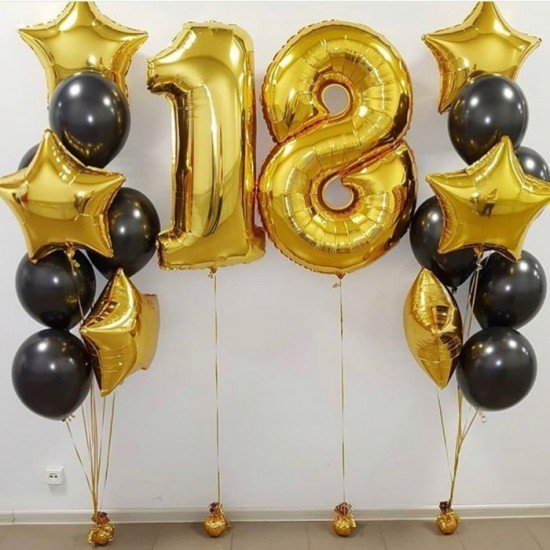 Композиция из воздушных шаров 18. Уже?