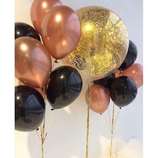 Композиция из воздушных шаров Роскошная жизнь