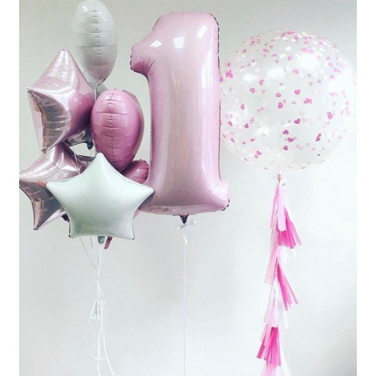 Композиция из воздушных шаров Маленькая фея