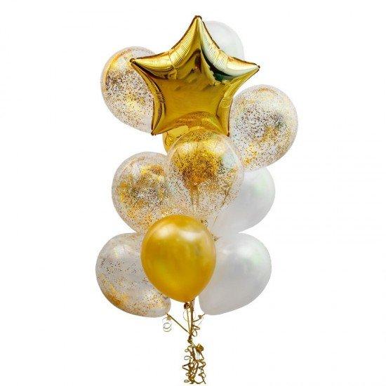 Композиция из воздушных шаров Лаконичность