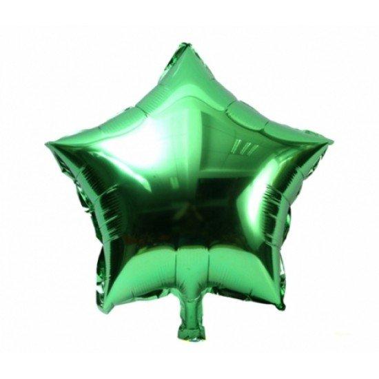 Звезда из фольги Зеленая, 81 см