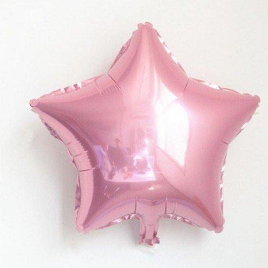 Звезда из фольги Розовая, 81 см