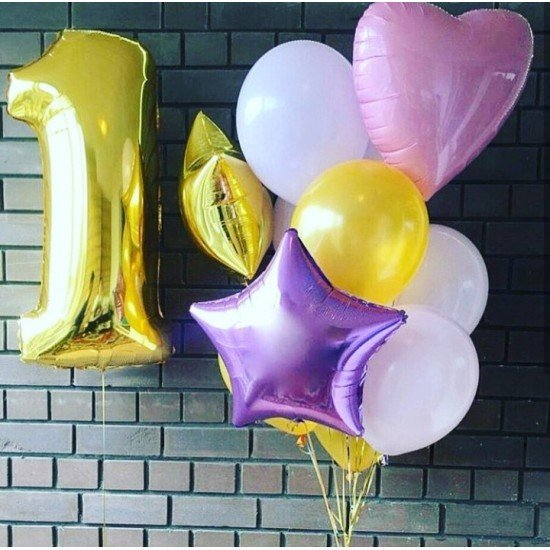 Композиция из воздушных шаров Шарм