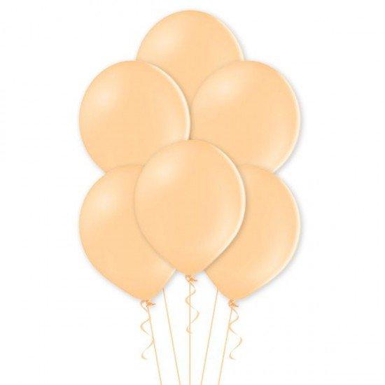 Облако воздушных шаров цвета Персикового цвета, пастель