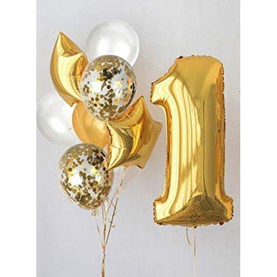 Композиция из воздушных шаров Годик