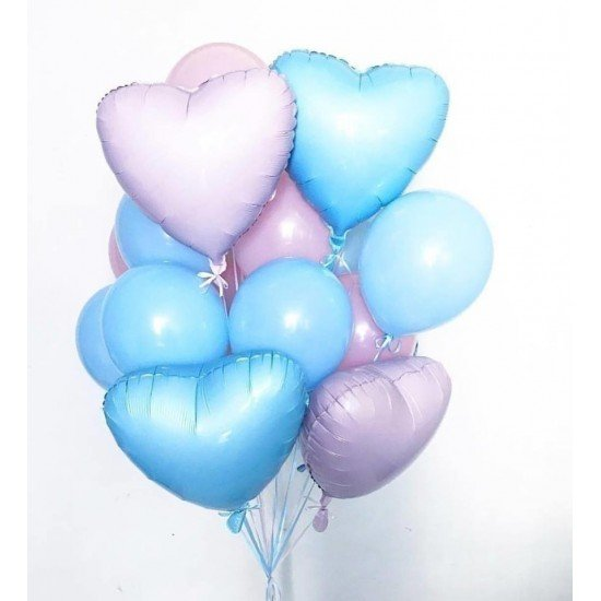 Композиция из воздушных шаров Гламур