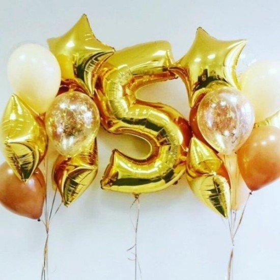 Композиция из воздушных шаров Счастье