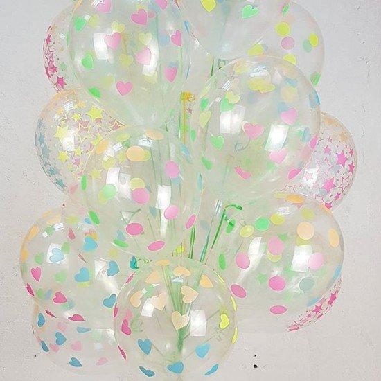 Облако воздушных шаров Панды Макарунс