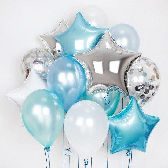 Композиция из воздушных шаров Настроение