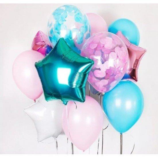 Композиция из воздушных шаров Нега