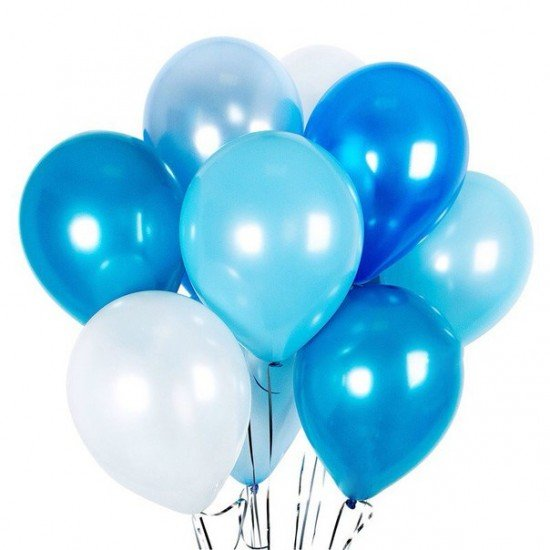 Композиция из воздушных шаров Синяя бездна