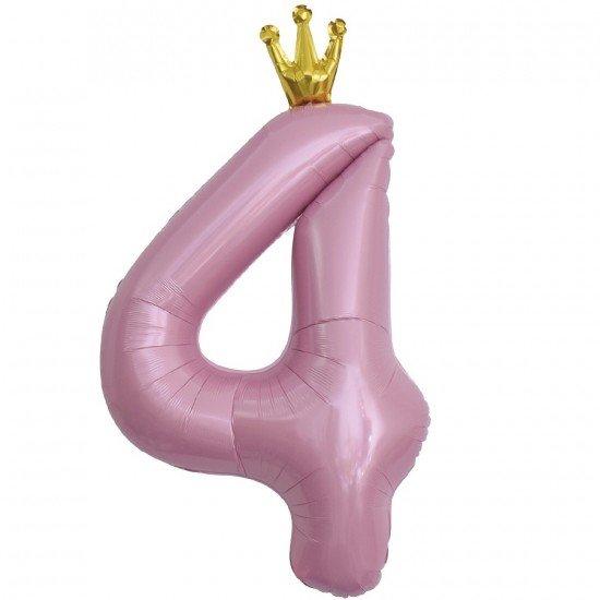 Звезда из фольги Фиолетовая, 81 см