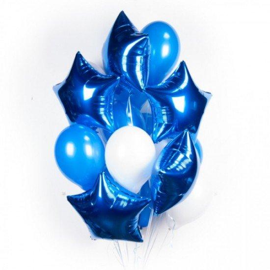 Композиция из воздушных шаров Морское безумие