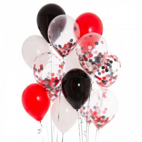 Композиция из воздушных шаров Яркая фантазия