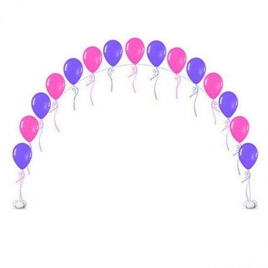 Гирлянда из гелиевых воздушных шаров
