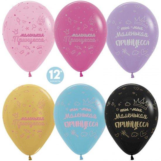 Облако воздушных шаров Маленькая принцесса