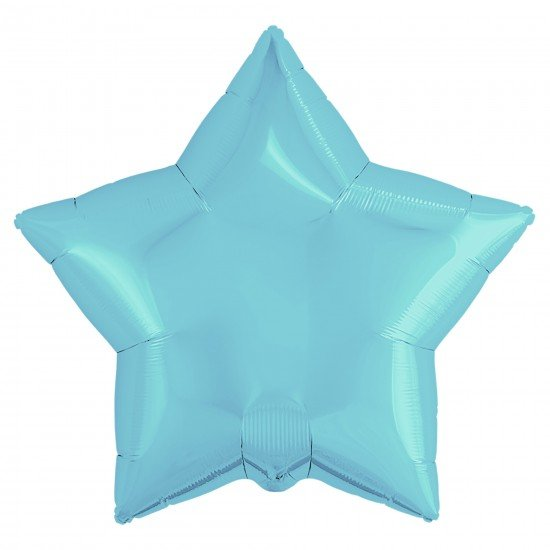 Звезда из фольги Голубая, 81 см
