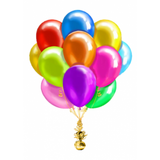 Облако воздушных шаров Металлик Ассорти