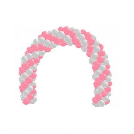 Арка из воздушных шаров Розовый фламинго
