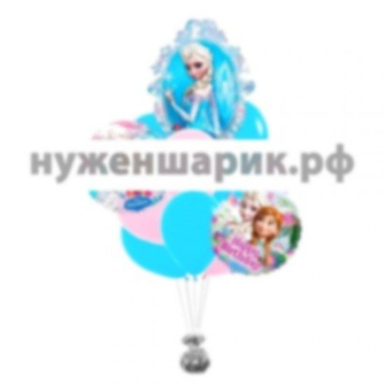 Букет из воздушных шаров Эльза