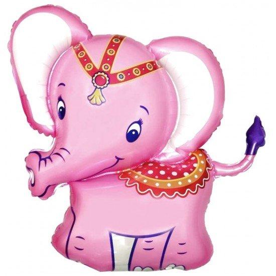 Фигура, Слоник, Розовый, 86 см