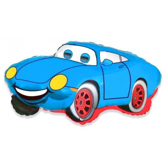 Фигура, Гоночная машина, Синий, 81 см