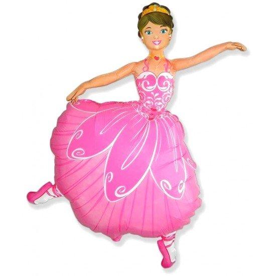 Фигура, Балерина, Розовый, 102 см