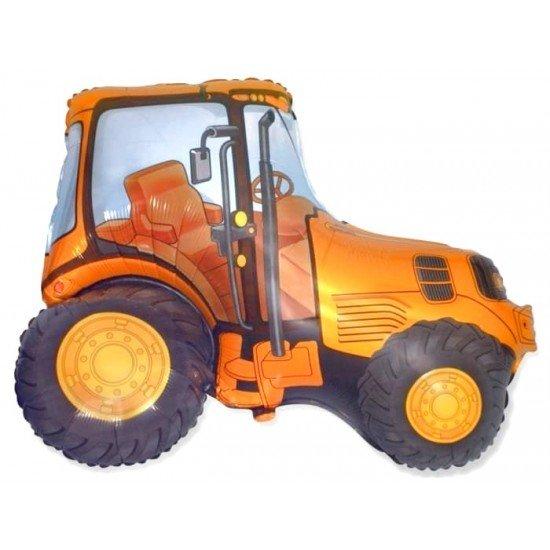 Фигура, Трактор, Оранжевый, 94 см