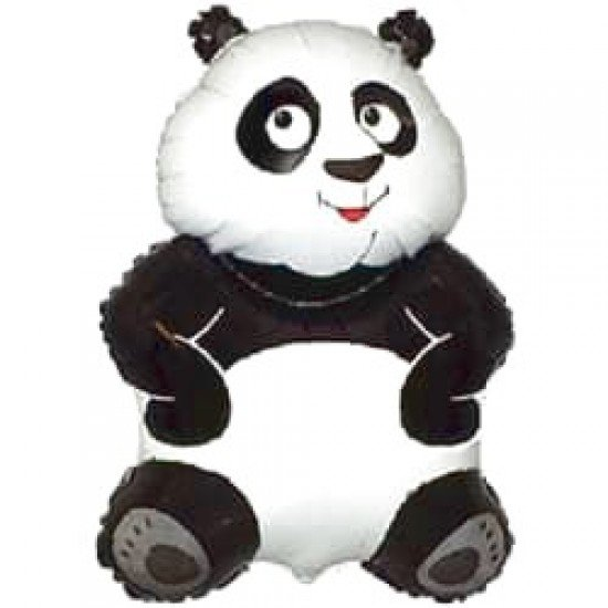 Фигура, Большая панда, Белый, 84 см
