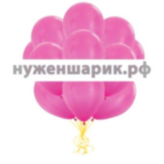 Облако Розовых воздушных шаров Металлик