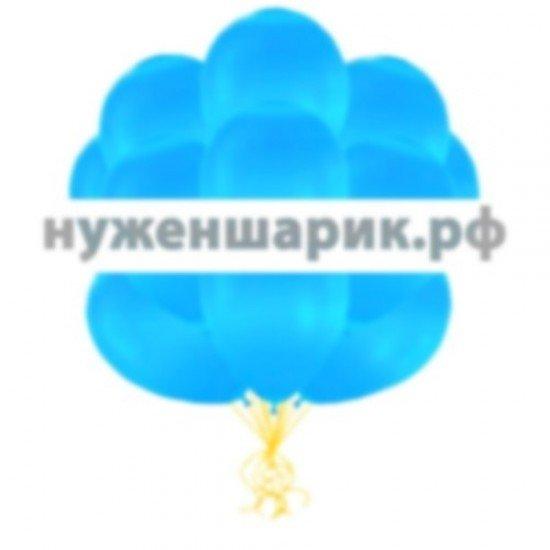 Облако Голубых воздушных шаров Металлик
