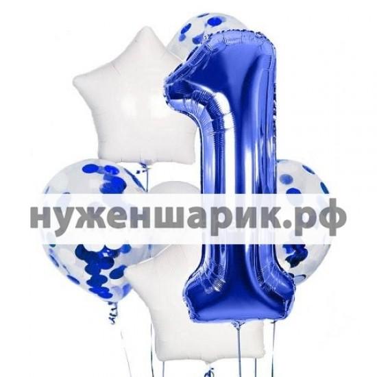 Композиция из воздушных шаров Номер один