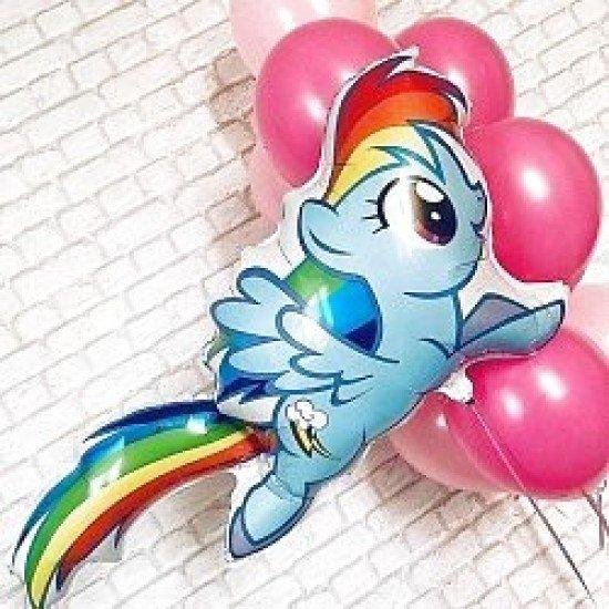 Фигура, My Little Pony, Лошадка Радуга, 109 см