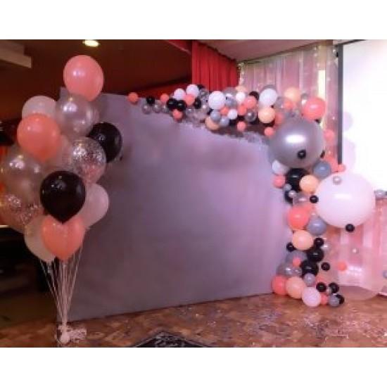 Фотозона из воздушных шаров Элегантность
