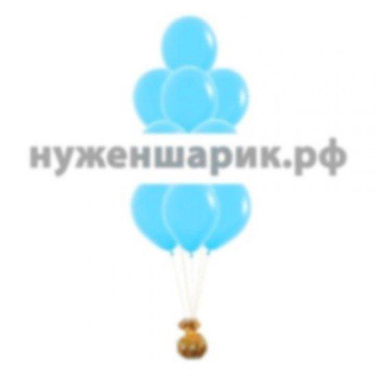 Фонтан из воздушных шаров цвета Тиффани Пастель