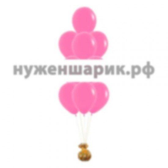 Фонтан из Фуше воздушных шаров Пастель