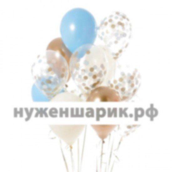 Композиция из воздушных шаров Голубая малютка