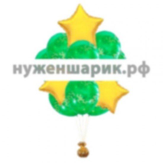 Связка из воздушных шаров Защитник