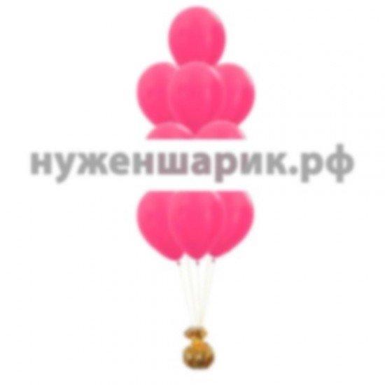 Фонтан из воздушных шаров Фуше Металлик
