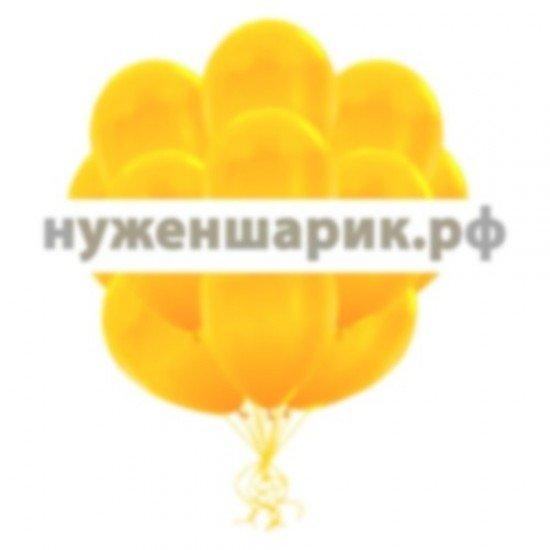 Облако Желтых воздушных шаров Металлик