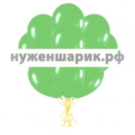 Облако Зеленых воздушных шаров Пастель