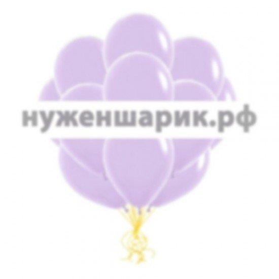 Облако Сиреневых воздушных шаров Пастель