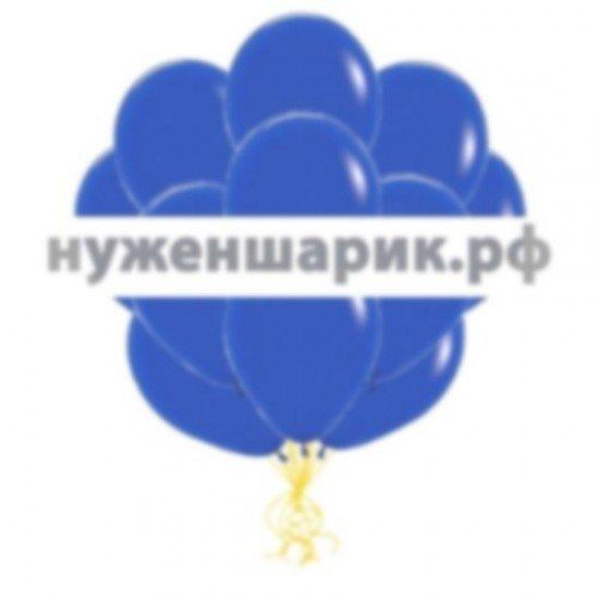 Облако Синих воздушных шаров Пастель