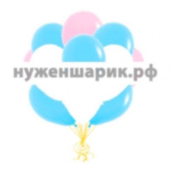 Облако Розовых, Голубых и Белых воздушных шаров