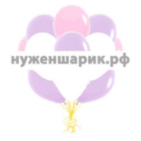 Облако Розовых, Белых и Сиреневых воздушных шаров
