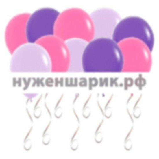 Шары под потолок Сиреневые, Фиолетовые, Фуше