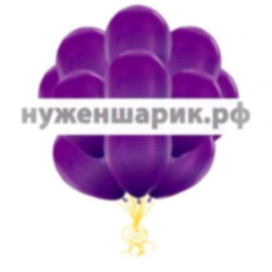 Облако Фиолетовых воздушных шаров Металлик